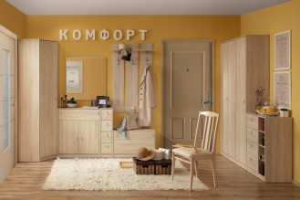 Мебель для прихожей «Комфорт» дуб сонома