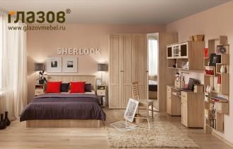 Спальный гарнитур «Sherlock» дуб сонома