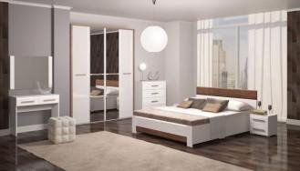 Спальный гарнитур «Яна» глянец