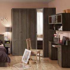 Спальный гарнитур «Sherlock» Ясень Анкор темный