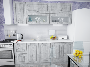 Модульный кухонный гарнитур «Сопрано» Рамбла