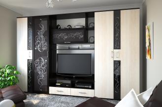 Модульная стенка в гостиную «Вега EVO»