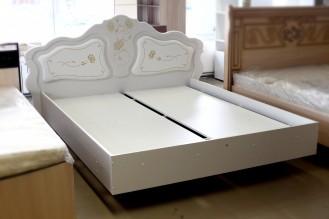 «Мелани 1» кровать 160х195 с мягким элементом (выставочный образец)