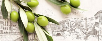 Стеновая панель «Итальянская олива»