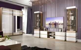 Модульная стенка для гостиной «Хилтон»