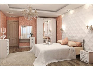 Спальня «Азалия» Бодега Белый
