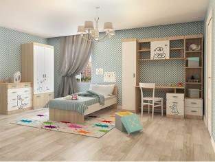 Подростковая детская мебель «Кот»