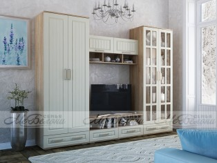 Модульная стенка для гостиной «Маркиза»