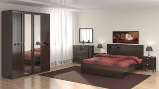 Модульная спальня «Соната» (Венге)