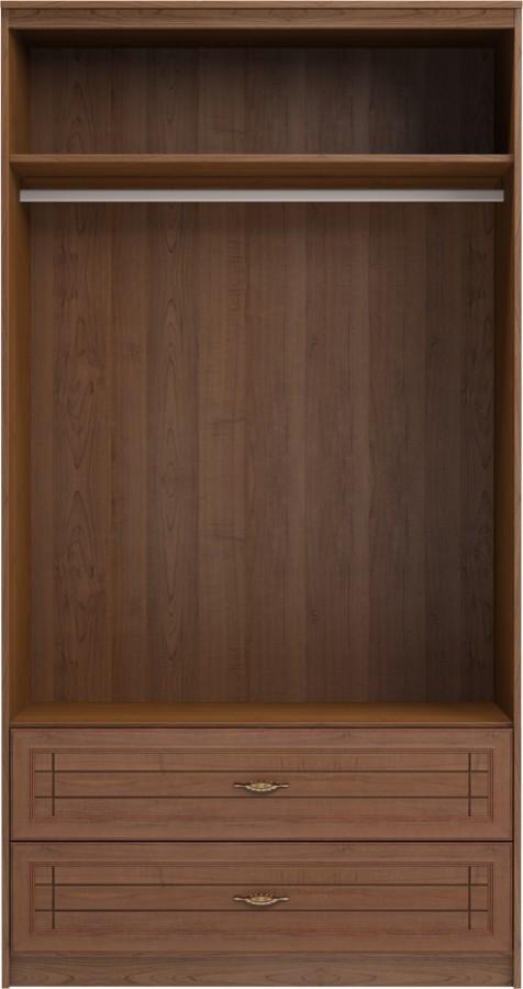 Шкаф для одежды и белья с ящиками 2-х дверный без зеркал 17 «Лондон ... 4fe9596d695