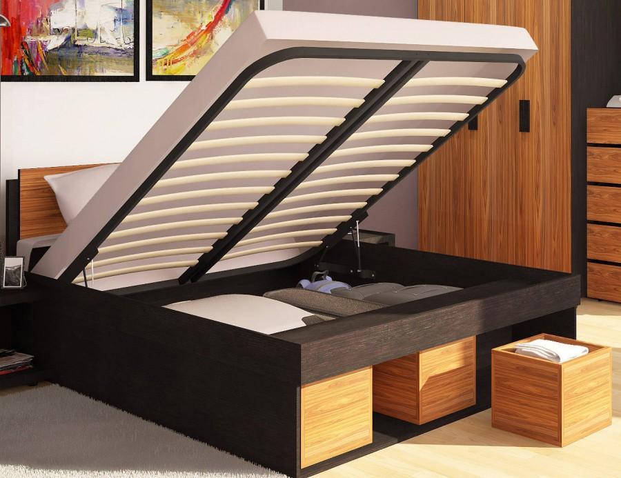 9541f5ae67956 Двуспальная кровать с подъемным механизмом «Hyper» купить недорого в ...