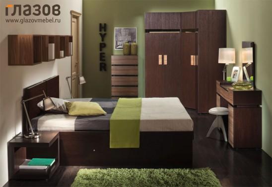 Модульная мебель для спальни «Hyper»