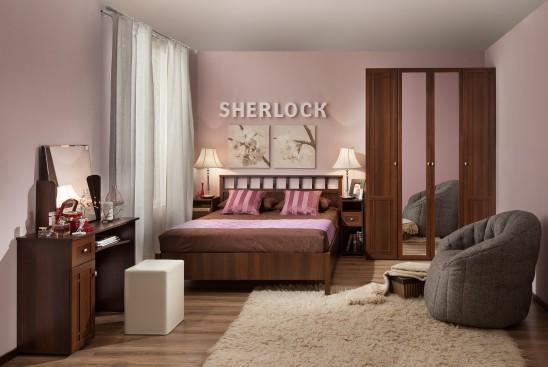 Спальный гарнитур «Sherlock» орех шоколадный