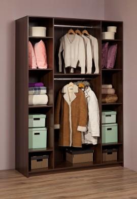 «Sherlock» 60 Шкаф для одежды и белья орех шоколадный