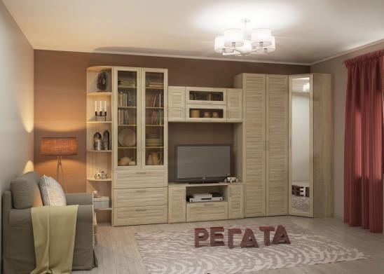 Модульная мебель для гостиной «Регата»