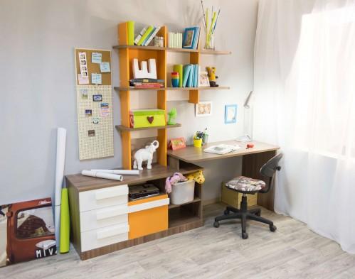 Письменный рабочий стол для школьника «Пиксель»