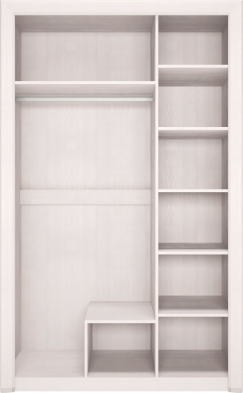Шкаф для одежды 3-х дв с зеркалом 06 «Мальта»
