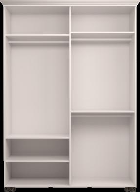 Шкаф для одежды 4-х дв. с зеркалом 01 «Лукреция»