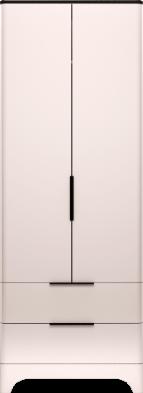 Шкаф для одежды с ящиками 2-х дверный (без зеркал) (09) «Танго»