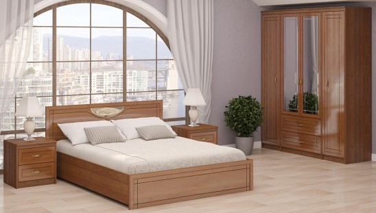 Модульная мебель для спальни «Лондон»