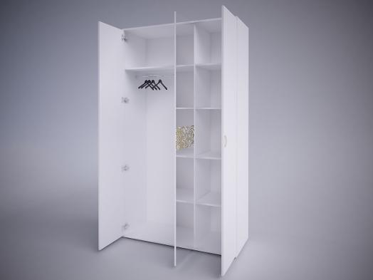 «Селена EVO» Шкаф 3-х дверный (зеркало отдельно)