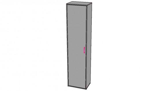 Шкаф 1-дв со штангой м.3 «Камея EVO»