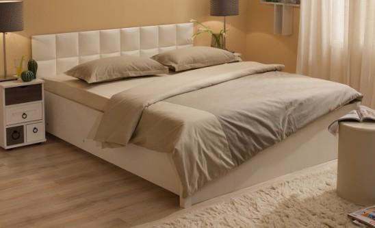 Двуспальная кровать с подъемным механизмом «Марчиана»