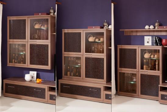 Модульная мебель для гостиной «Парма Люкс»