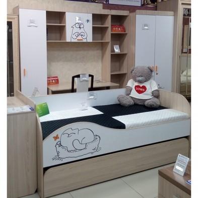 Детская кровать №900.1 «Кот»