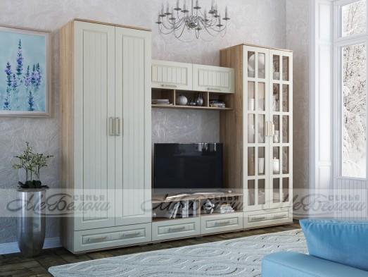 Модульная стенка в гостиную «Маркиза»