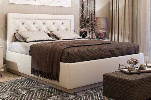 Мягкая кровать с подъемным механизмом «Версаль»