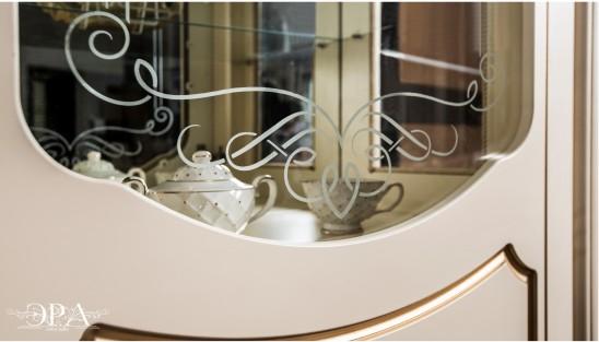Гостиная в классическом стиле «Мона Лиза» (крем)