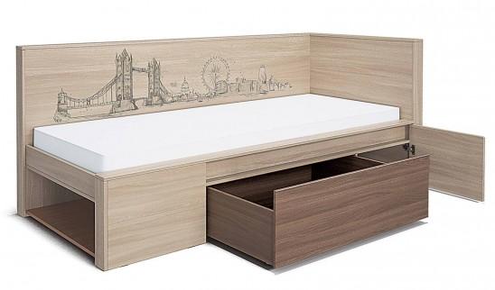 Кровать мод № 1 «Город»