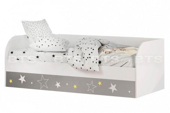 Кровать детская (с подъёмным механизмом) КРП-01 «Трио Звездное детство»