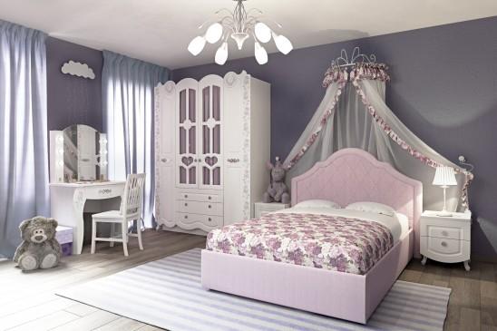 Кровать мягкая с орт.основанием «Розалия»