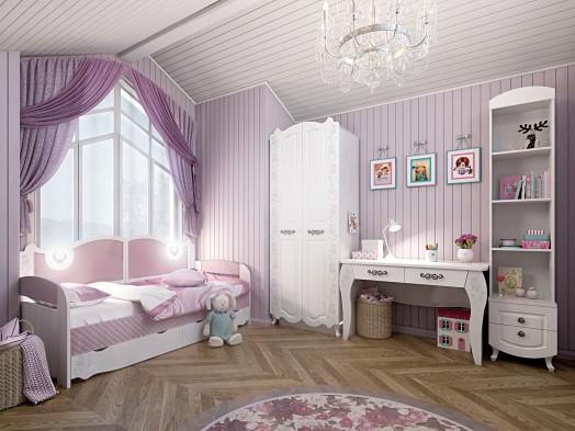 Кровать-тахта 2000*900 с подсветкой №900.4 «Розалия»