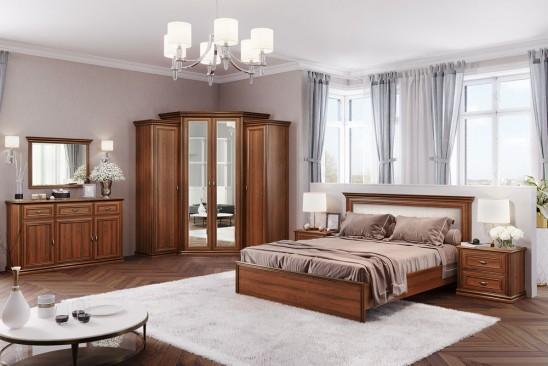 Спальный гарнитур «Венето» Орех Экко