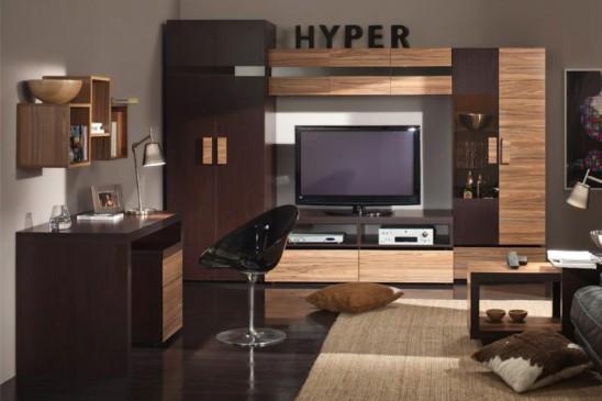 Модульная стенка в гостиную «Hyper»