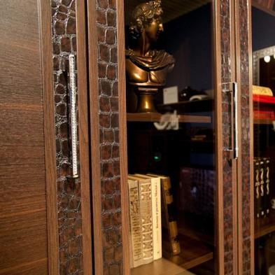 Модульная стенка горка в гостиную «Тоскана»