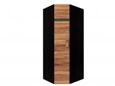 Гостиная «Hyper» Шкаф угловой 1 палисандр/левый