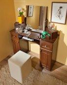 «Sherlock» 52 Столик туалетный без зеркала орех шоколадный