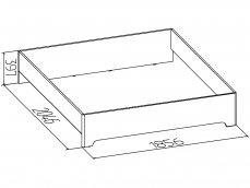 «Эко» Кровать двуспальная без основания