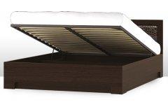 Двуспальная кровать 1 с подъемным механизмом спальня «Парма»
