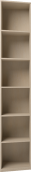 Шкаф для книг завершающий (правый) 25 «Скандинавия-Люкс»