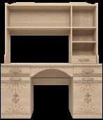 Стол письменный с надстройкой 6+11 «Квест»