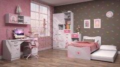 Модульная детская мебель «Принцесса»