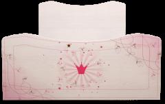 Кровать на 900 (комплектация 2) 05 «Принцесса»