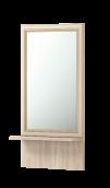 Зеркало настенное с полкой 21 «Брайтон»