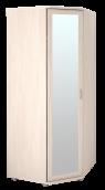 Шкаф угловой для одежды с зеркалом 30Р «Ника-Люкс»