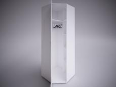 Шкаф угловой «Селена EVO» (зеркало отдельно)